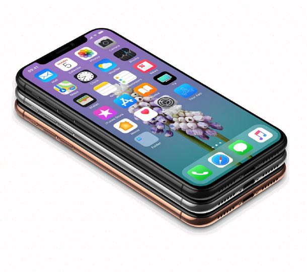 Сравнение по толщине iphone x и galaxy s8