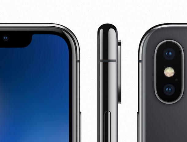 внешний вид iphone X
