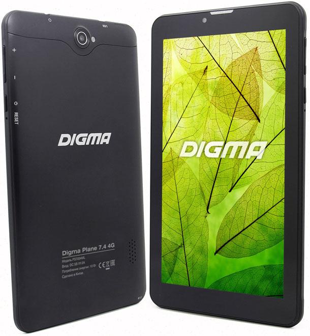 рейтинг Digma Plane 7.4 4G