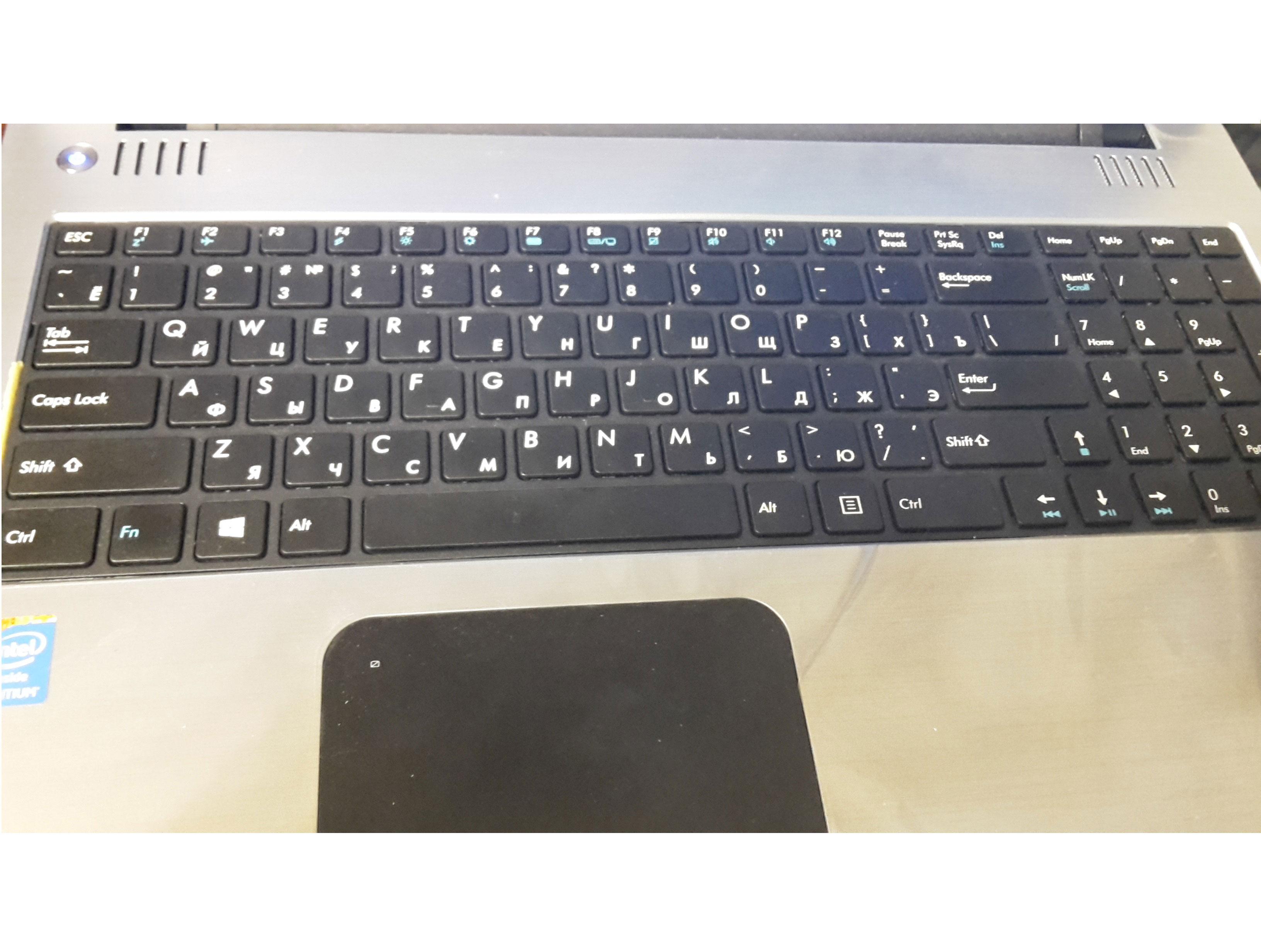 клавиатура ноутбука друга