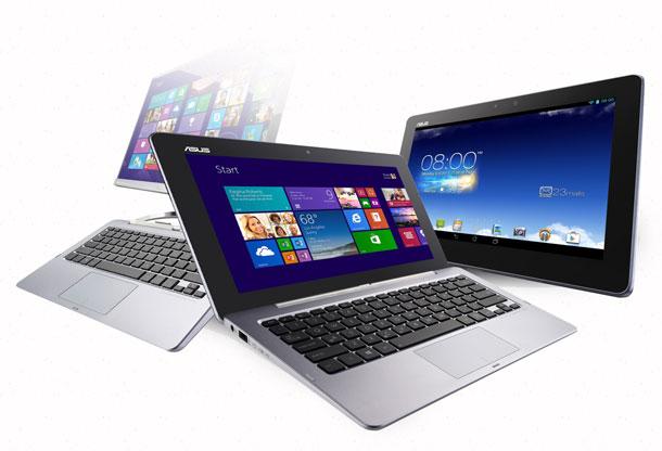 клавиатура у ноутбука и планшет