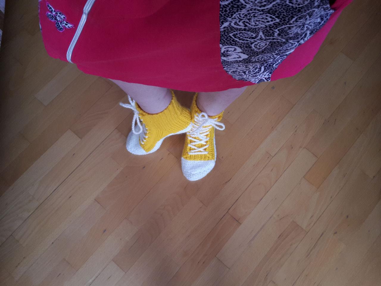 ботинки женские одетые