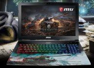 игровой ноутбук MSI для WoT