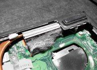 ноутбук греется из-за засорения его пылью, но есть и другие причины