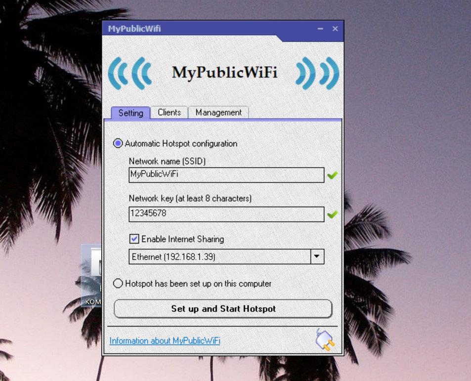 My public Wi-Fi