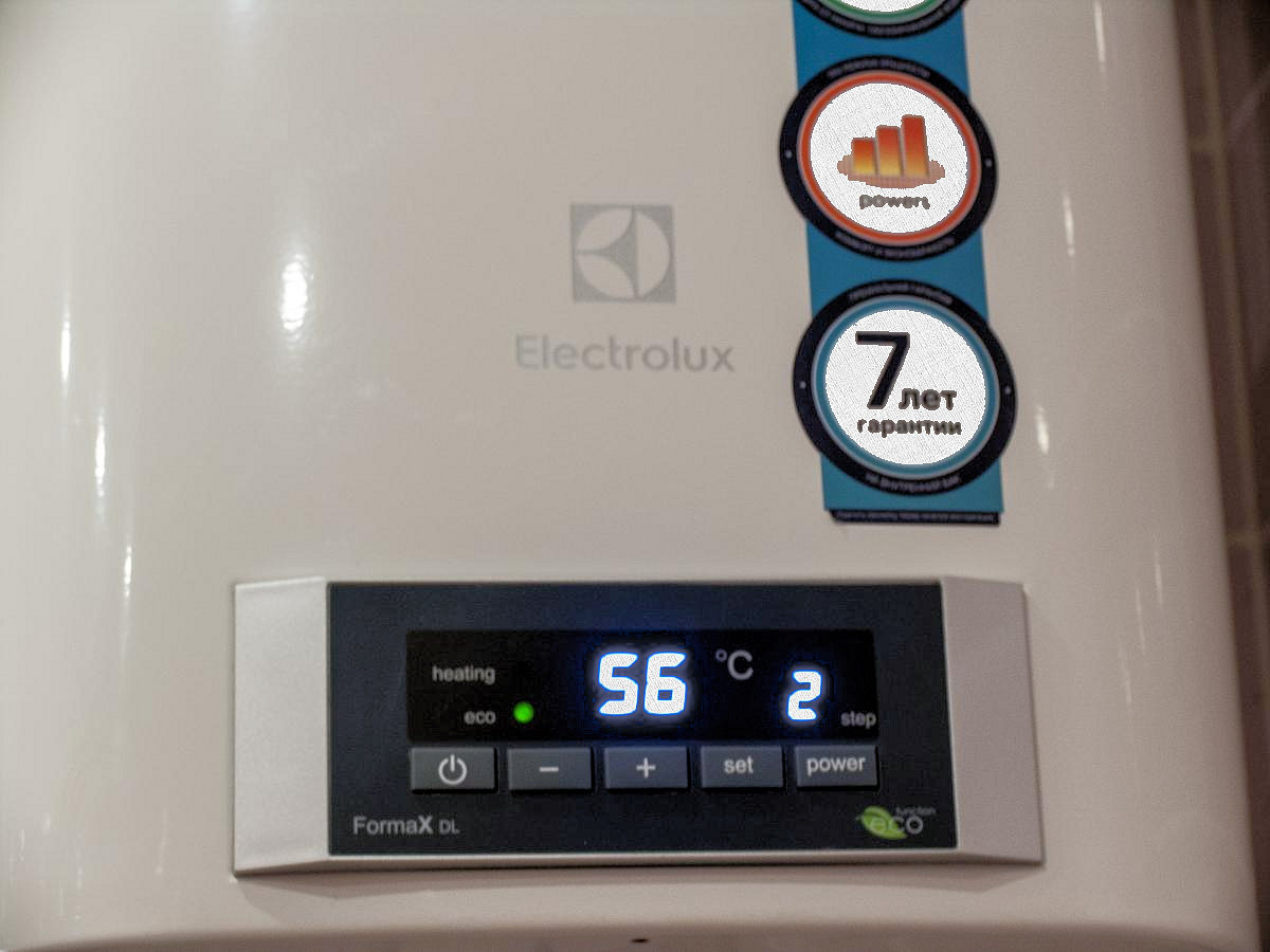 Electrolux EWH 80 Formax DL