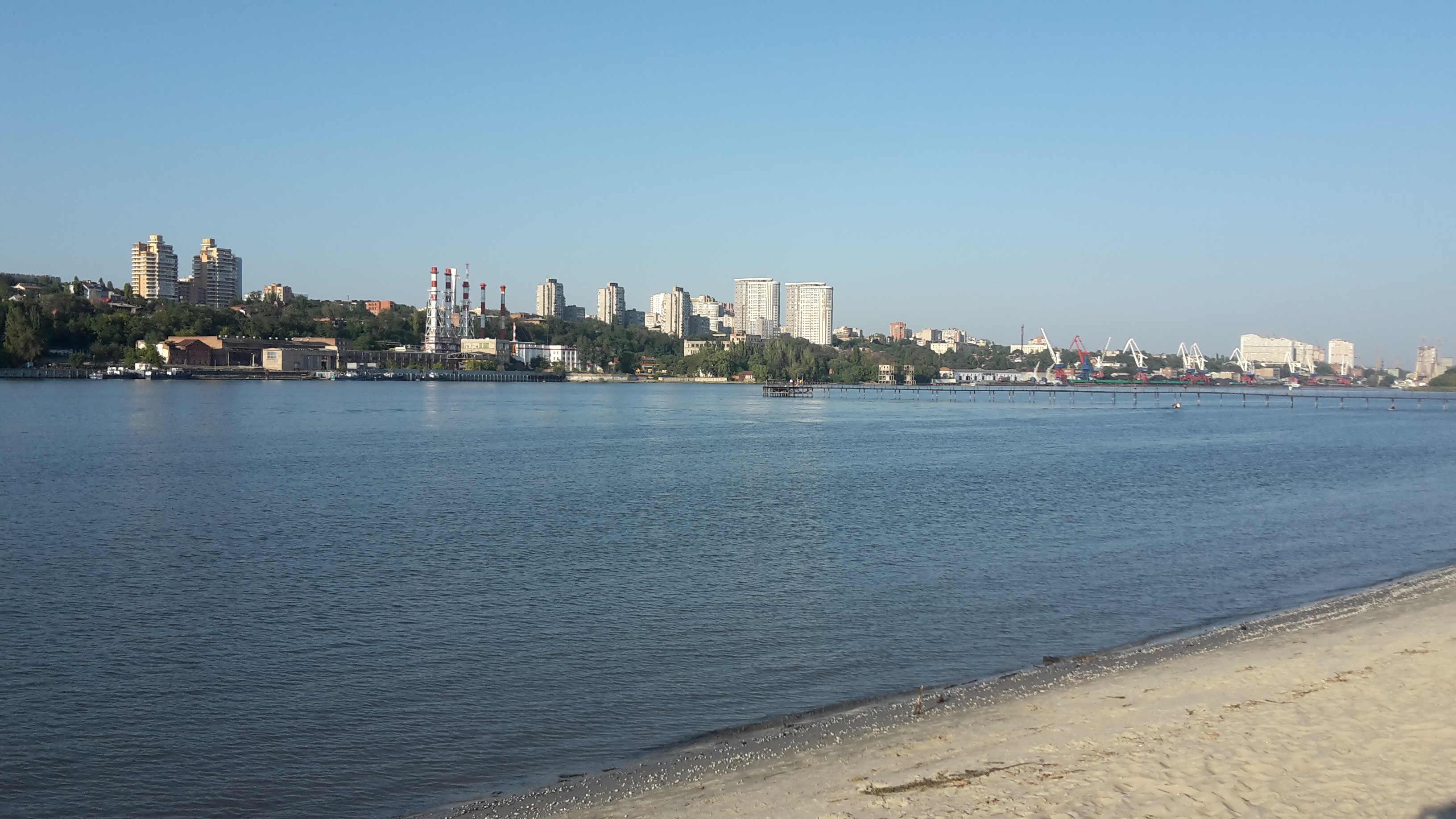 Панорама Ростова от Западного до Александровки