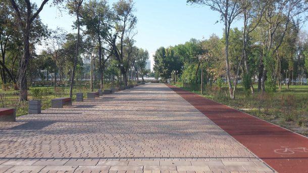 Парк, в котором классно отдыхать