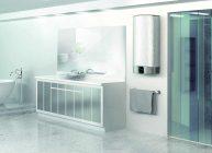 водонагреватель в ванной комнате
