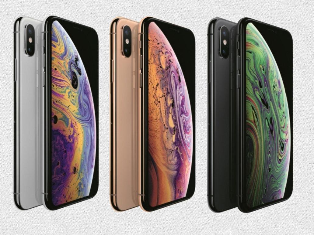 iphone XS цветовые решения