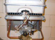 проточный газовый водонагреватель в доме