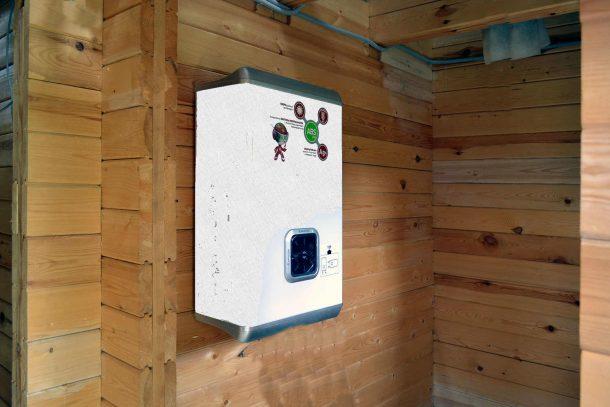 водонагреватель проточный на даче