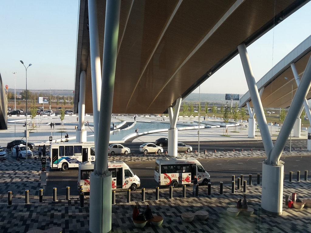 вид из окна самого аэропорта