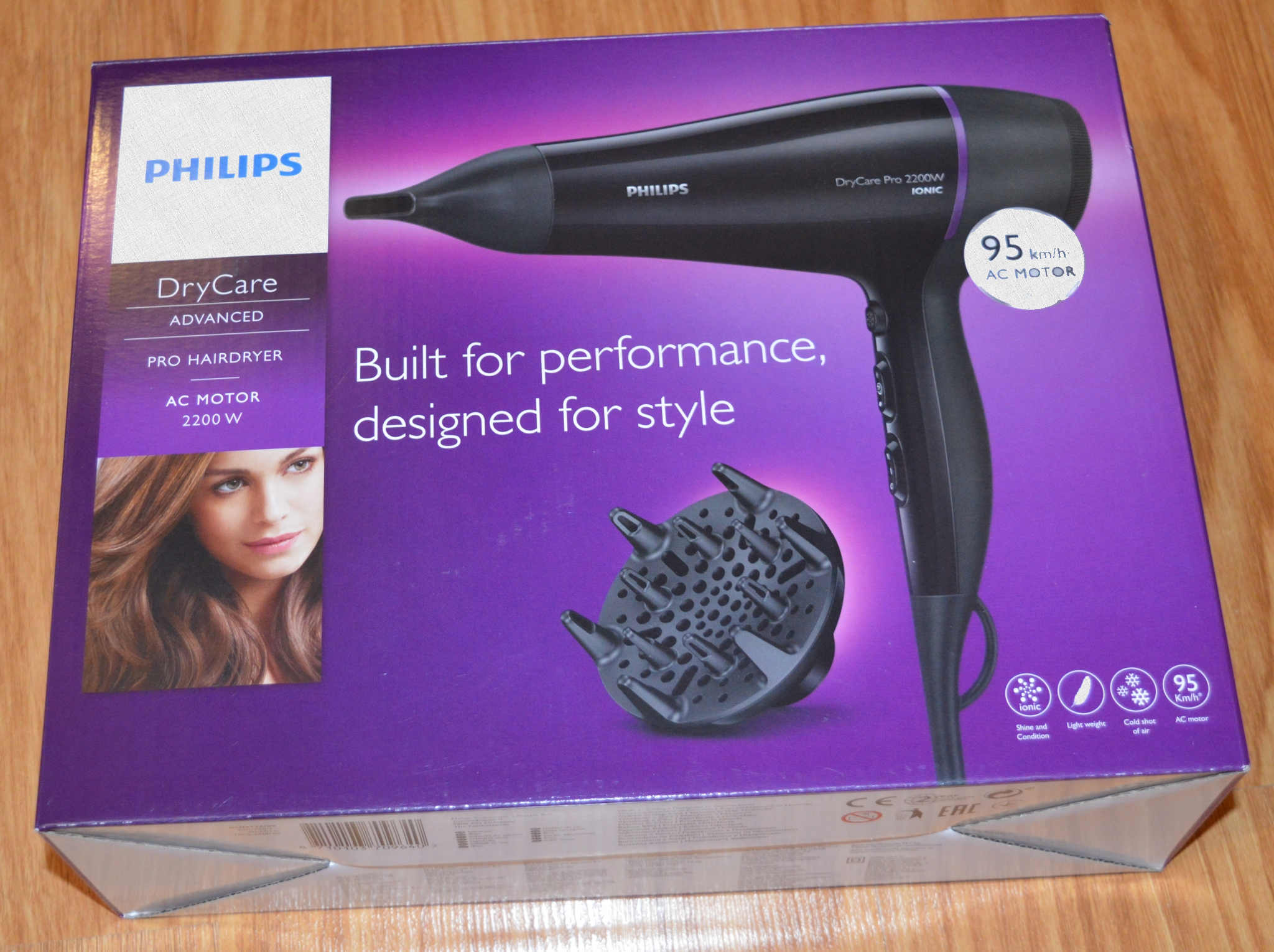 Philips BHD176 DryCare Pro