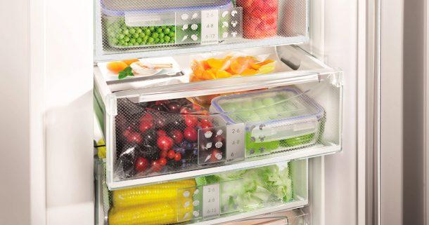 морозильная камера ноу фрост с продуктами