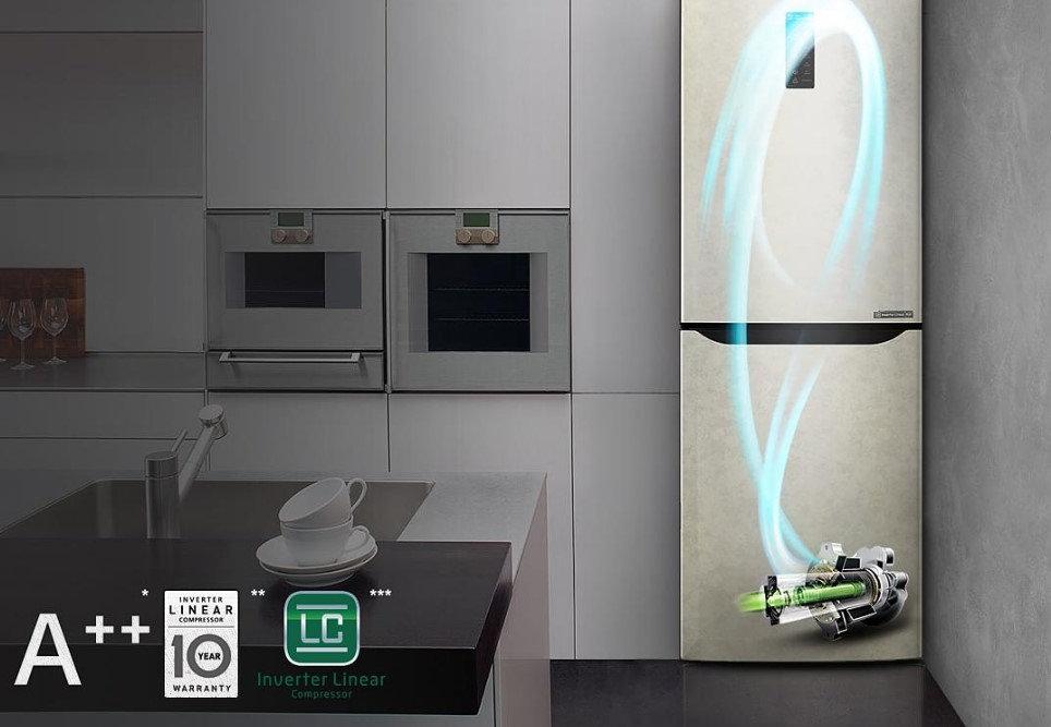 инверторный двигатель в холодильнике lg