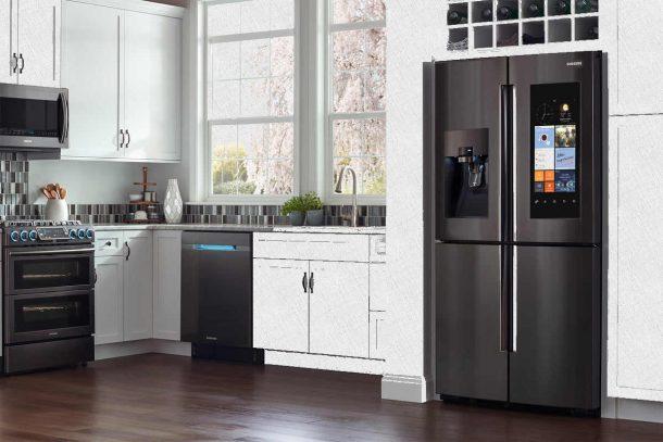 холодильник samsung с сенсорным управлением