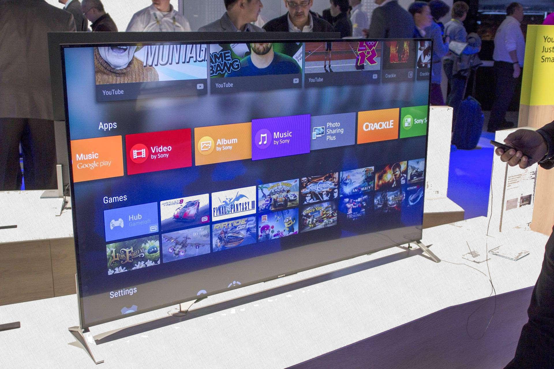 операционная система Android на Sony