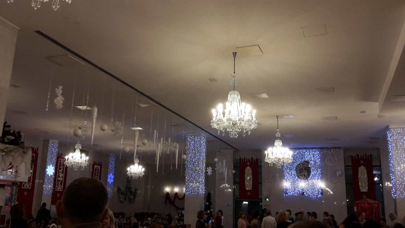 потолок и стены муз театра на втором этаже