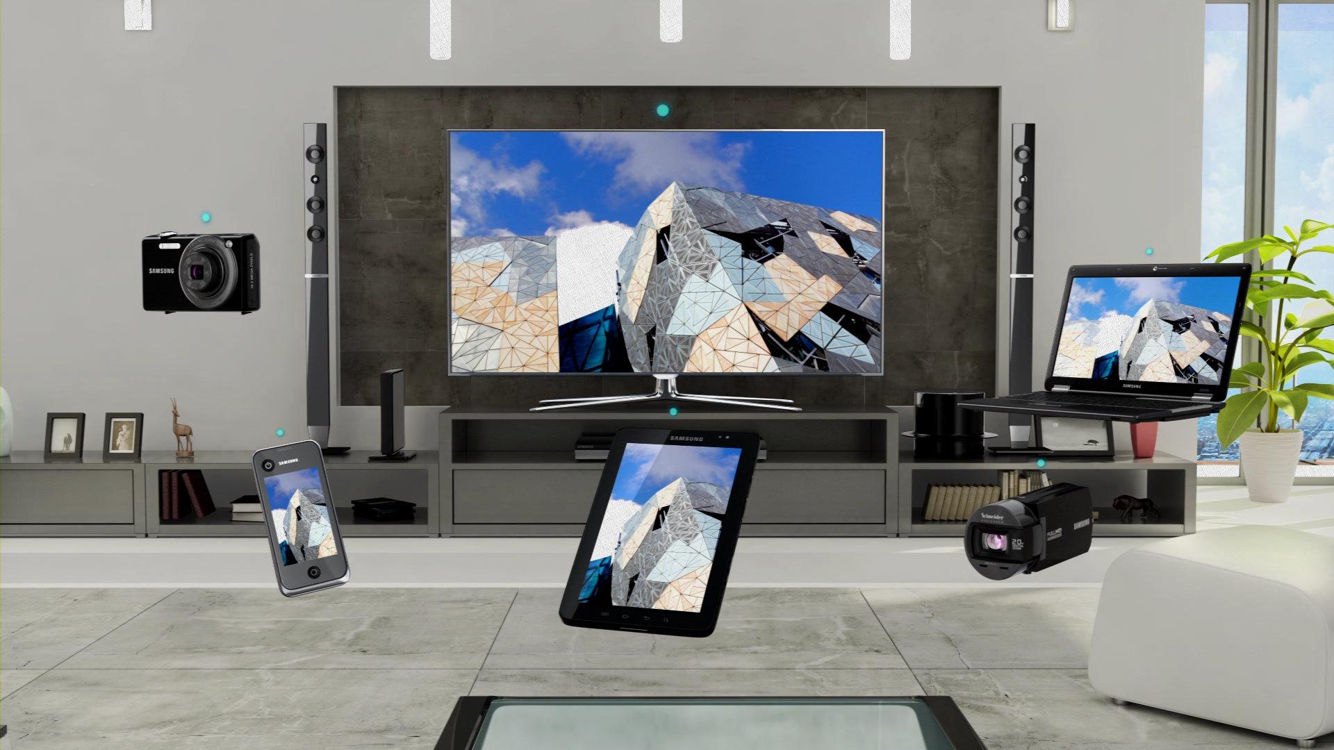 для дома AllShare Smart TV в телевизорах самсунг