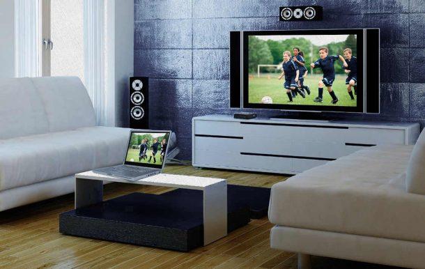 дублирование экрана на телевизор с компа