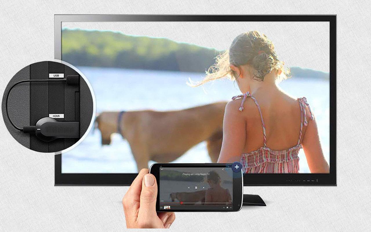 Дублирование картинки телевизора на смартфон