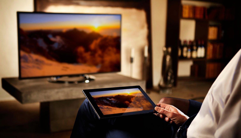 соединение через вай-фай с телевизором сони