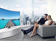 телевизор 55 дюймов в квартире