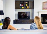 телевизор со смарт тв и вай фай в гостиной