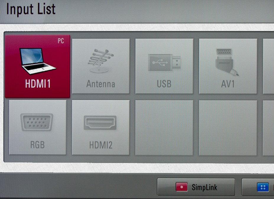 компьютер подключен к телевизору через hdmi кабель