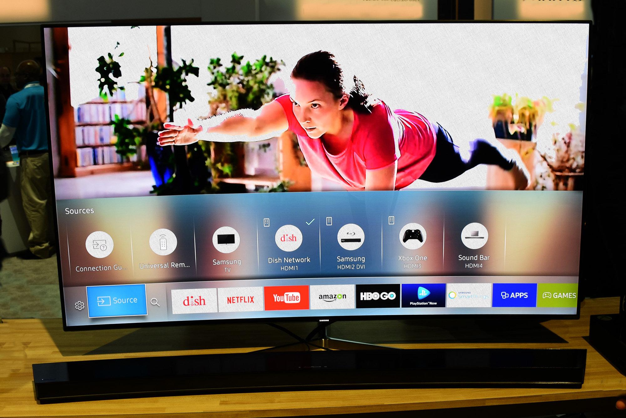 смарт тв в телевизоре самсунг с ОС tizen