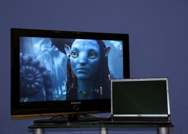 телевизор соединяем с компом через wi-fi