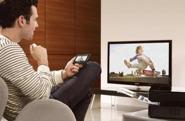 смартфон соединяем с телевизоров по wi-fi