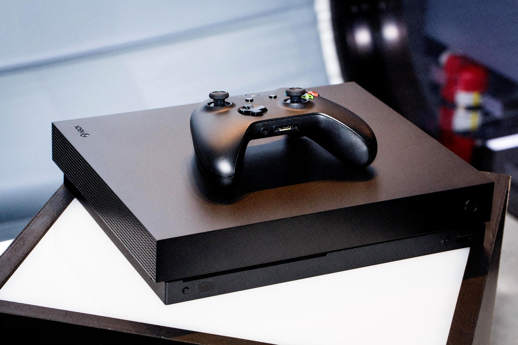 Microsoft Xbox One X выбрать 2019