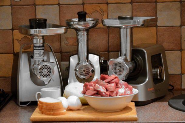 мясорубки лучших брендов на подиуме кухни