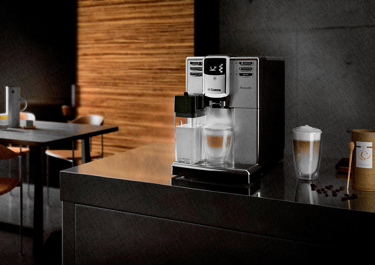 кофемашина, которая сама приготовит кофе с молоком