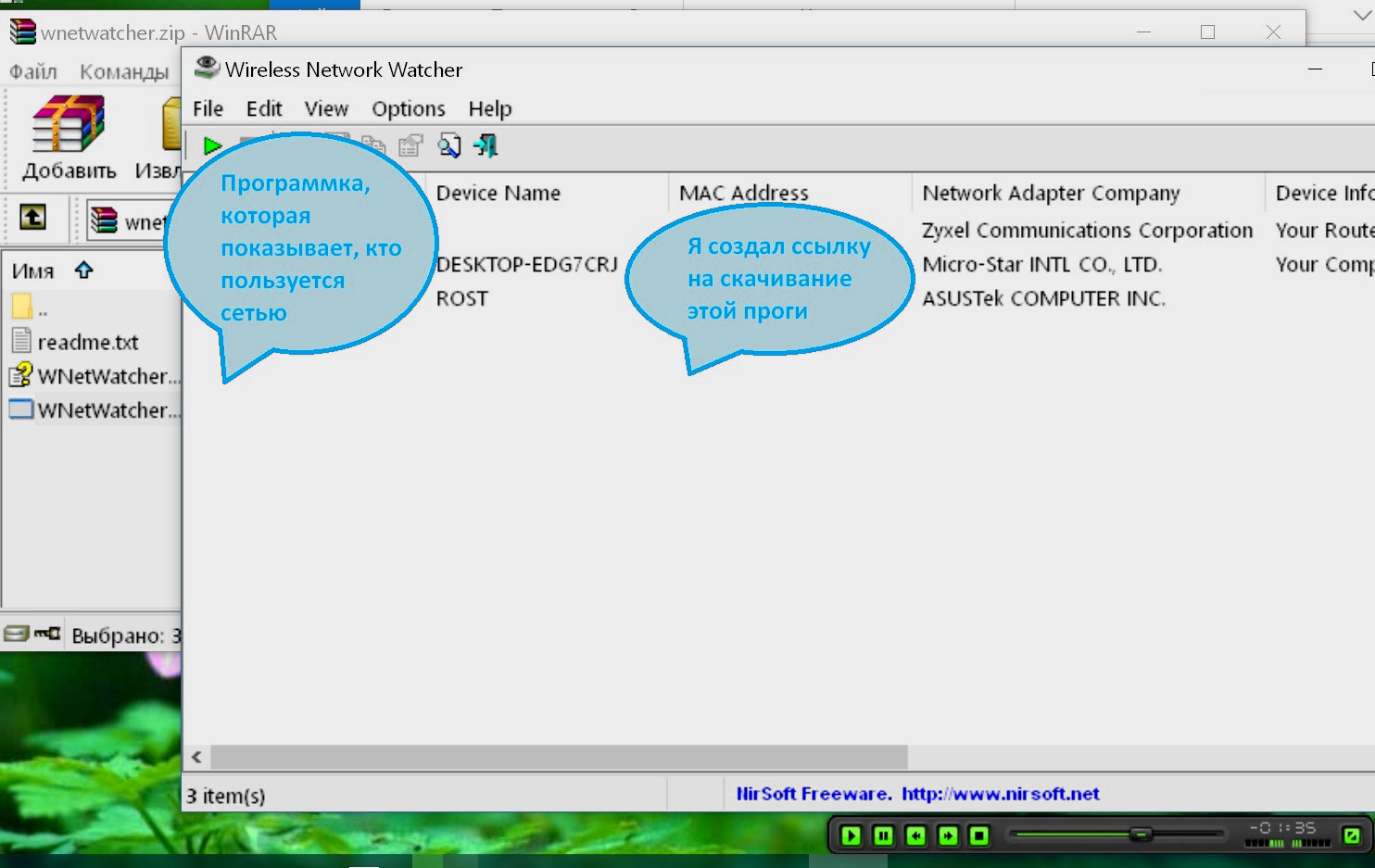 wnetwatcher программа
