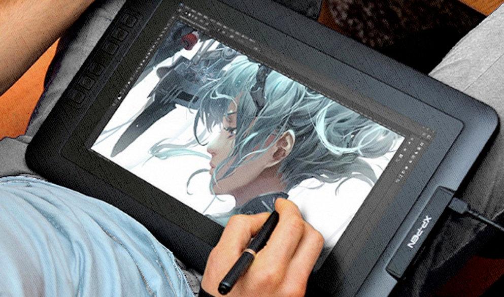 графический планшет с экраном выглядит именно так