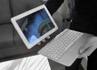 планшет с клавиатурой, который можно брать с собой в поездку