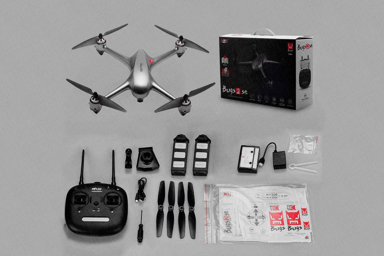 MJX Bugs 2 SE - предназначен для съемки с высоты