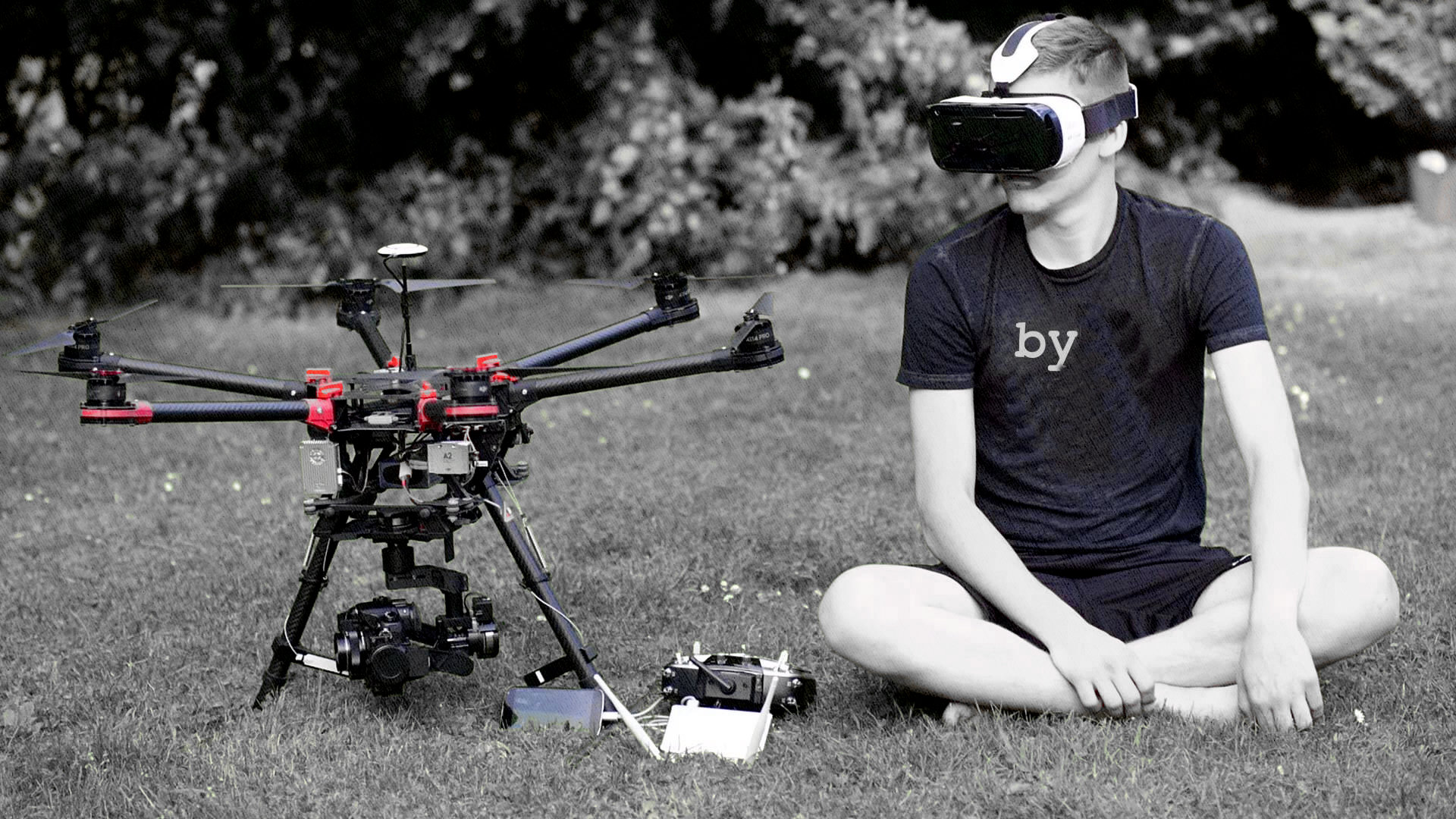 дрон для полётов на далёкие расстояния