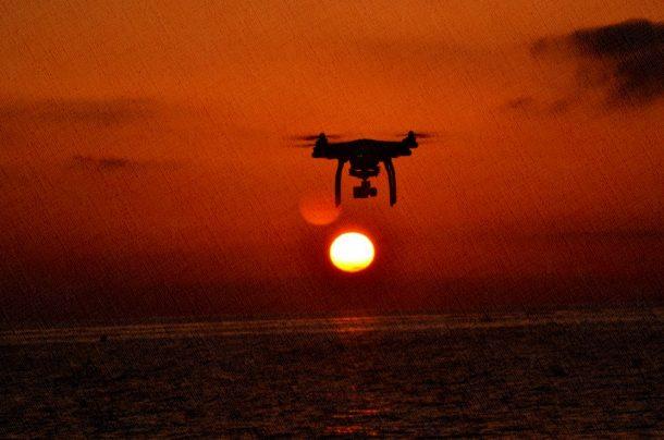 квадрокоптер для полетов на дальние от берега расстояний