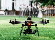 квадрокоптер на съёмках свадьбы