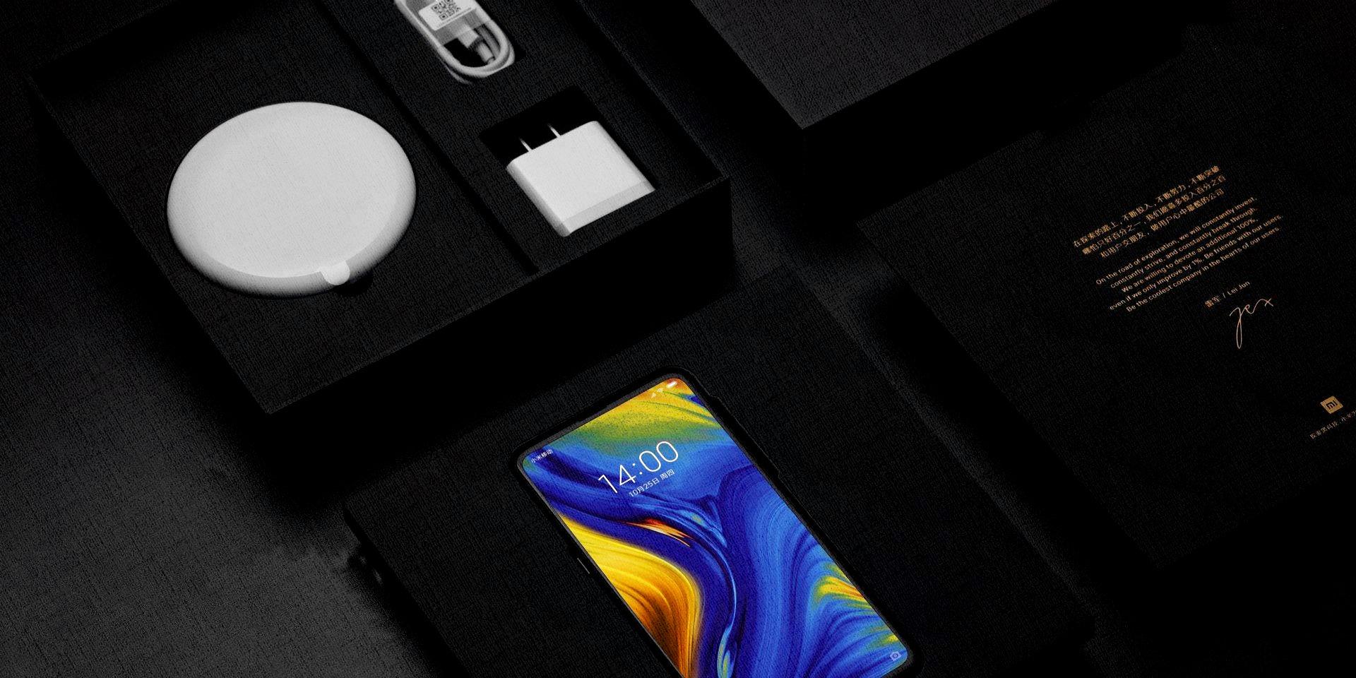 какой выбрать безрамочный - Xiaomi Mi Mix3