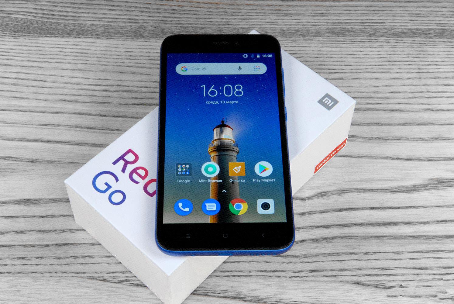 какой выбрать побюджетнее - Xiaomi Redmi Go 1/16Гб