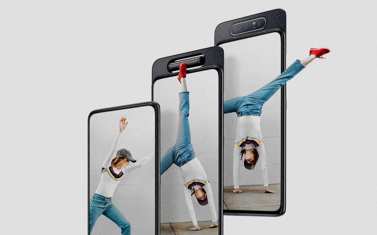 Какой лучше смартфон - Samsung Galaxy A80