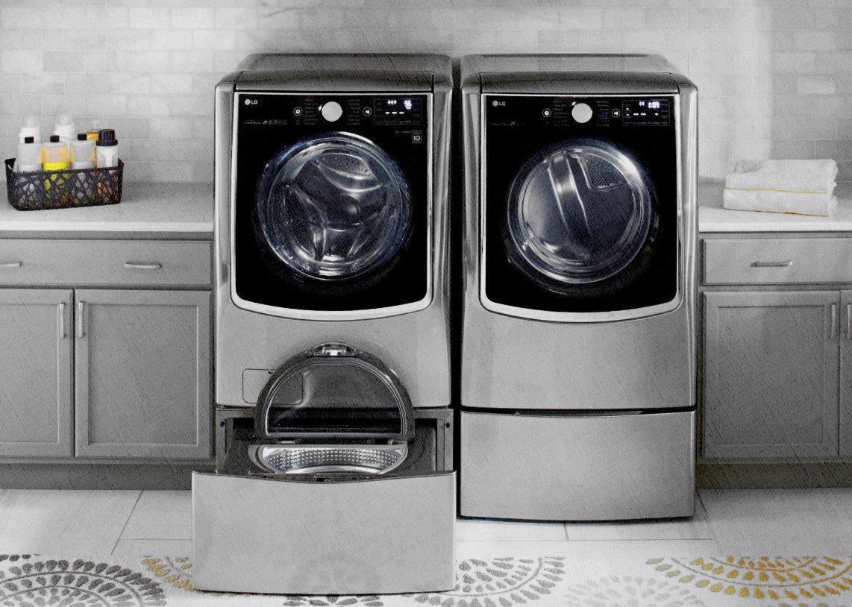 стиральная машина функциями сушки и маленькой стиралкой