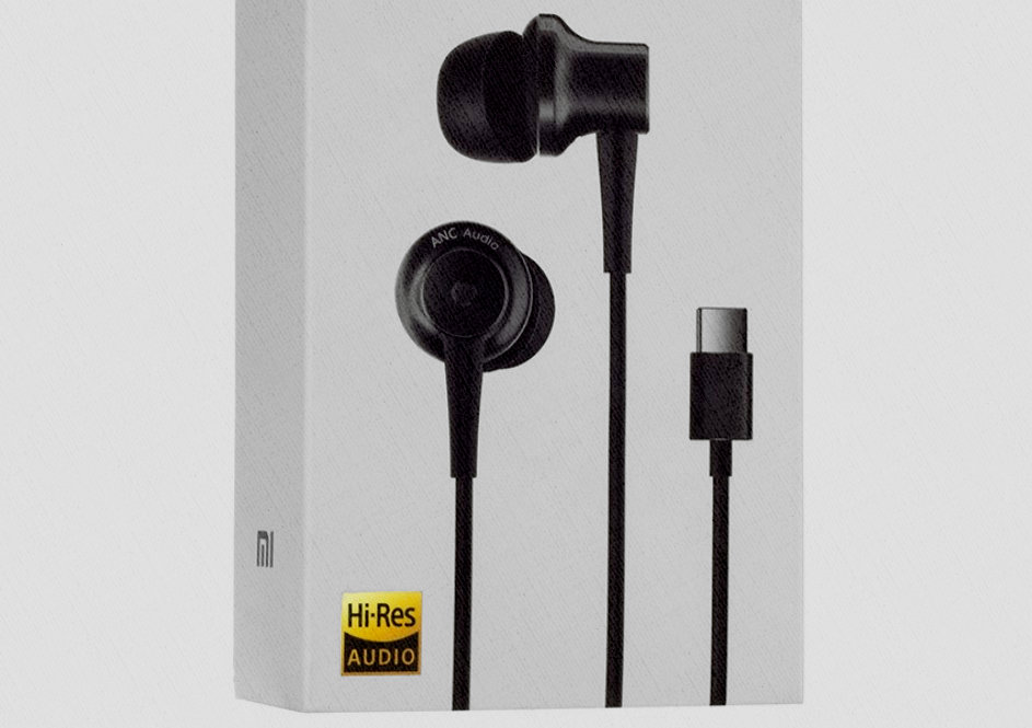 лучшие в 2020 году Xiaomi Mi ANC Type-C In-Ear Earphones