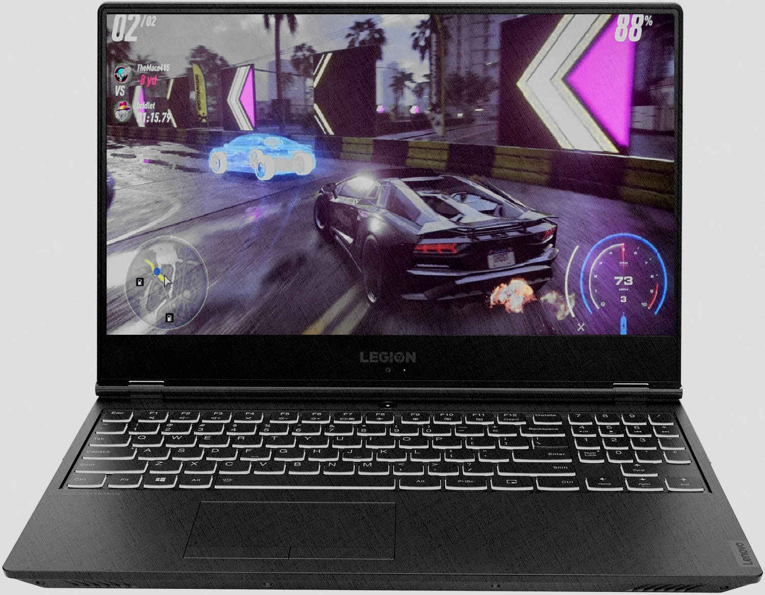 Lenovo Legion Y540-15IRH Black
