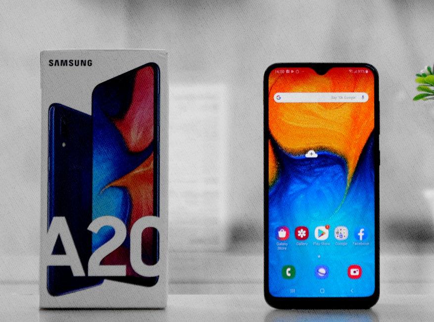 Samsung Galaxy A20 недорогой и хороший